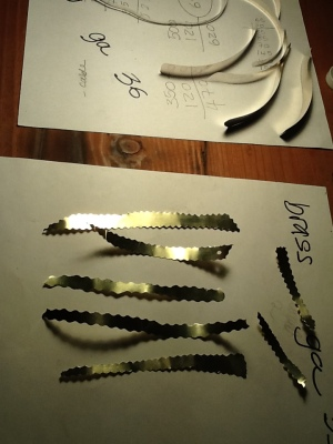 making feathers/brass
